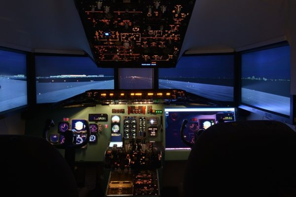 What's new in the world of aviation training technology?
